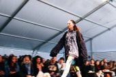 The Open Day catwalk, photograph by Madison Blair.