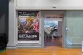 Fast Fashion: the dark side of fashion, RMIT Gallery, 2017. Photo by Mark Ashkanasy.