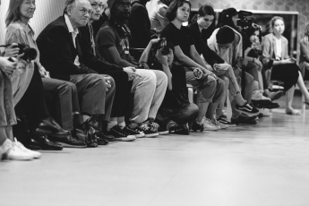 The front row at 'Catwalk Club Presents', photographed by Ava Dong.
