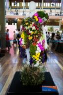 Botanical creation by Georgie Allen at the Melbourne International Flower & Garden Show.
