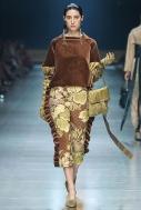 RMIT Bachelor of Fashion (Design)(Honours) Madeleine Jost's designs at VAMFF 2018.