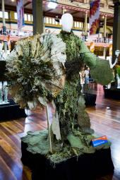 Madeeine Porritt who took third place at the Melbourne International Flower and Garden Show.