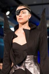 Design by Bachelor of Fashion (Design) (Honours) student Tijen Bozdemir (Model: Toni)