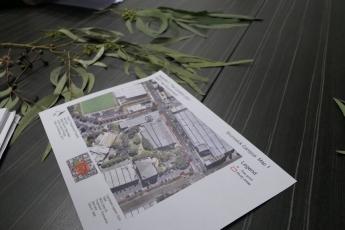Brunswick campus planting map
