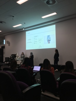 Bachelor of Fashion Entrepreneurship presentations