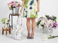 Lauren Stringini - Dress and Tote Bag