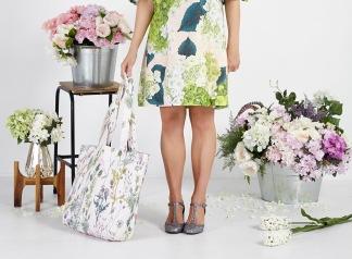 Lauren Stringini - Dress and Tote Bag