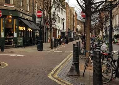 Streetview, Lamb's Conduit Street, Bloomsbury