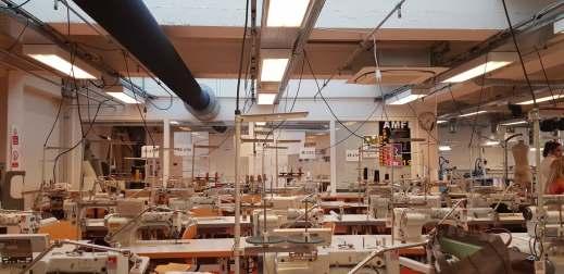 Sewing machine lab at AMFI