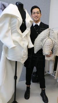 Sean Rentaro and his jacket