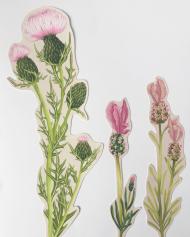 Textile design by Lauren Stringini
